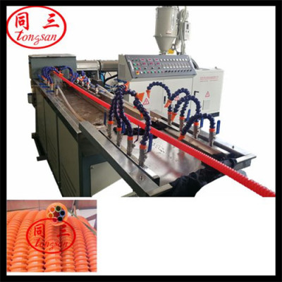spiral corrugated pipe extruding line spiral corrugated pipe extrusion machine