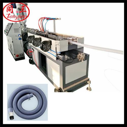 corrugated pipe machine for washing machine drain hose