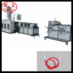 corrugated pipe machine to make hookah pipe/ shisha hose making machine