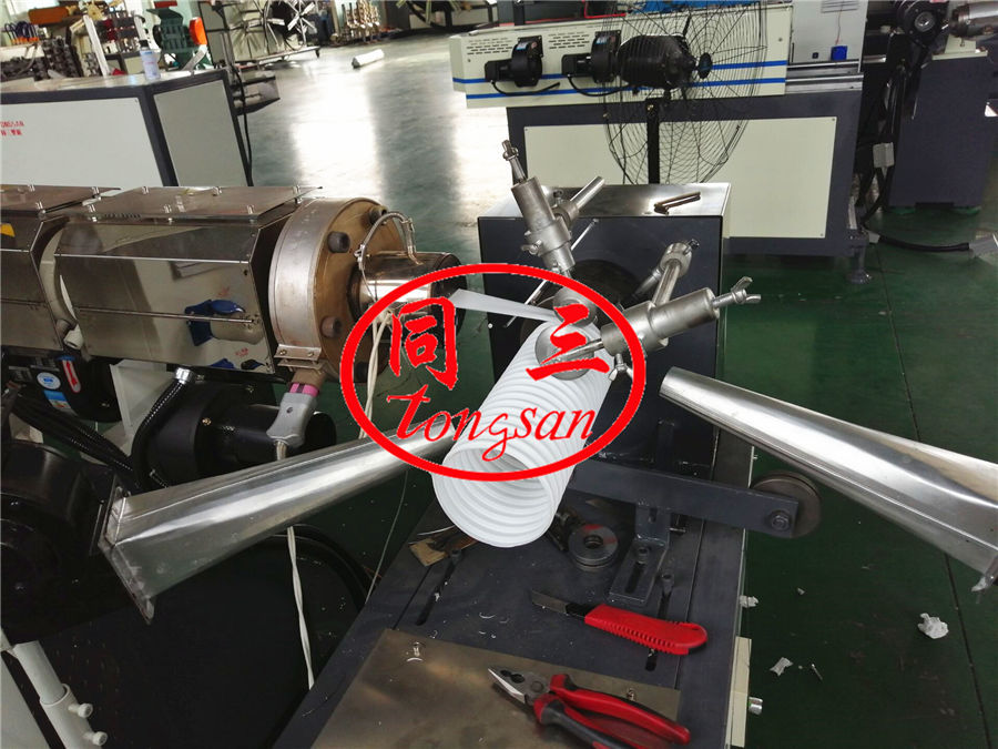 pp shrink wind pipe  making machine
