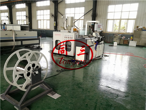 steel shrinkale corrugated pipe machine