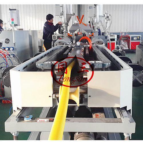 electrical flexible corrugated conduit pipe machine price