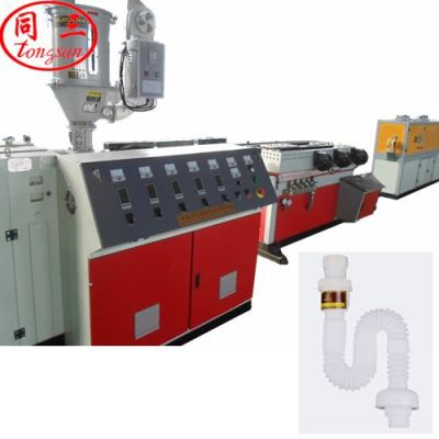corrugated expansion pipe machine - corrugated shrinkable pipe making machine