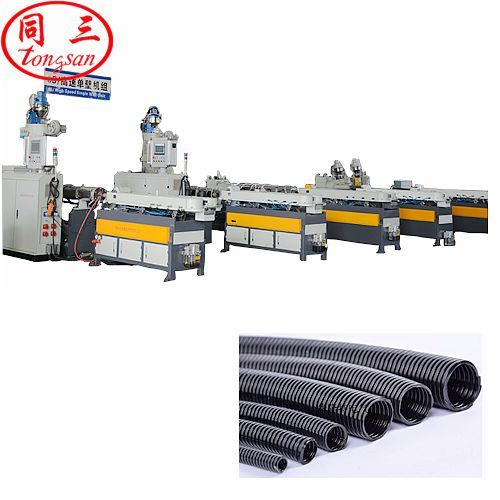 pp corrugated pipe production line