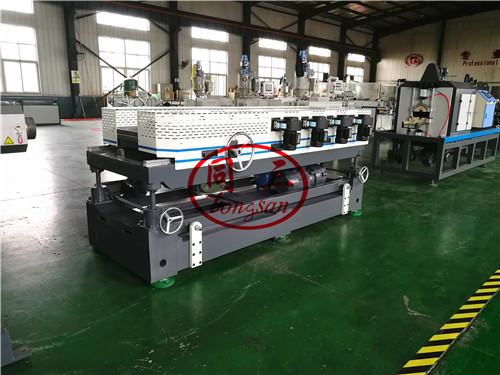 50-160mm double wall corrugated pipe machinery