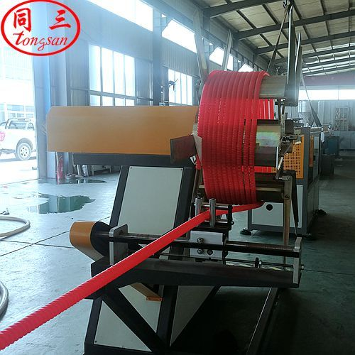 spiral corrugated pipe extrusion line