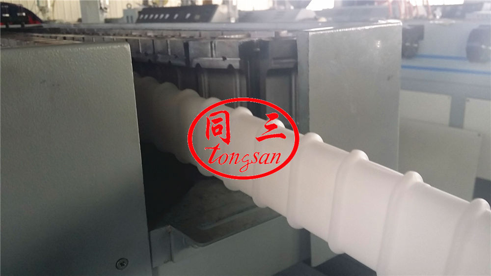 flat corrugated pipe mold