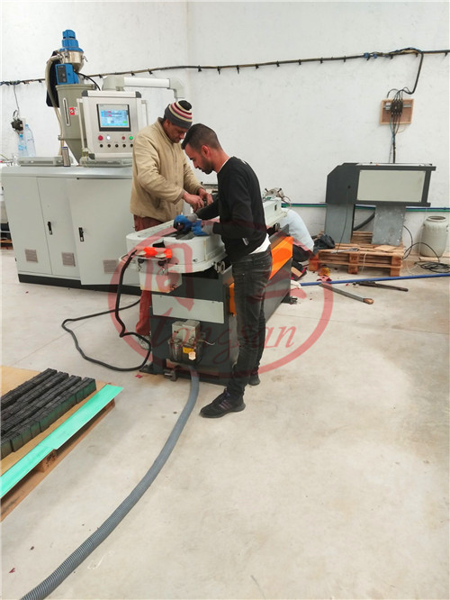 20m/min high speed corrugated pipe machine