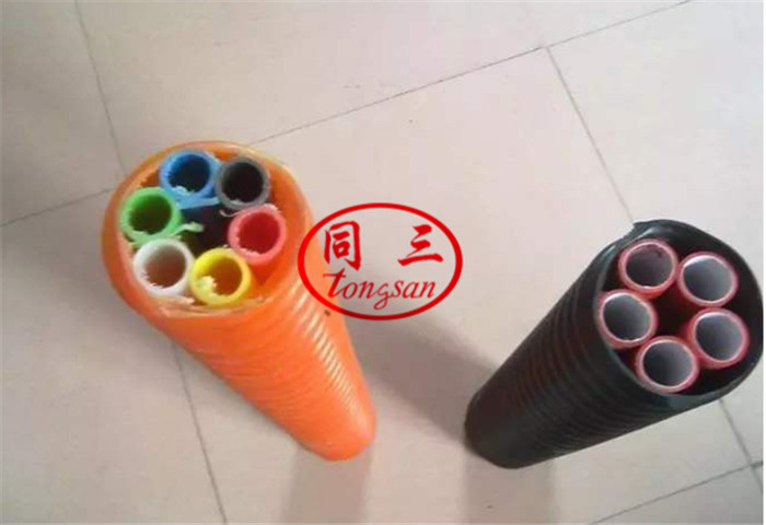 How to Use Corrugated Optic Duct Pipe ? (COD pipe machine)