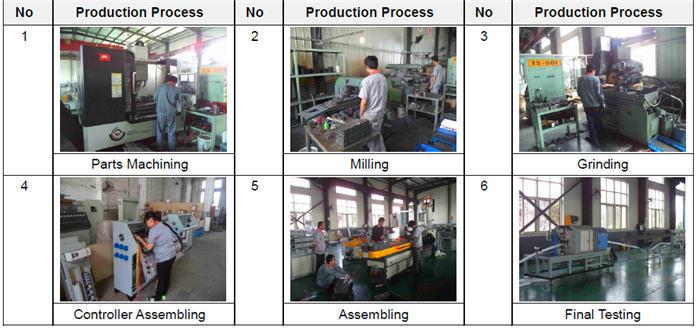 shisha hose CNC machine