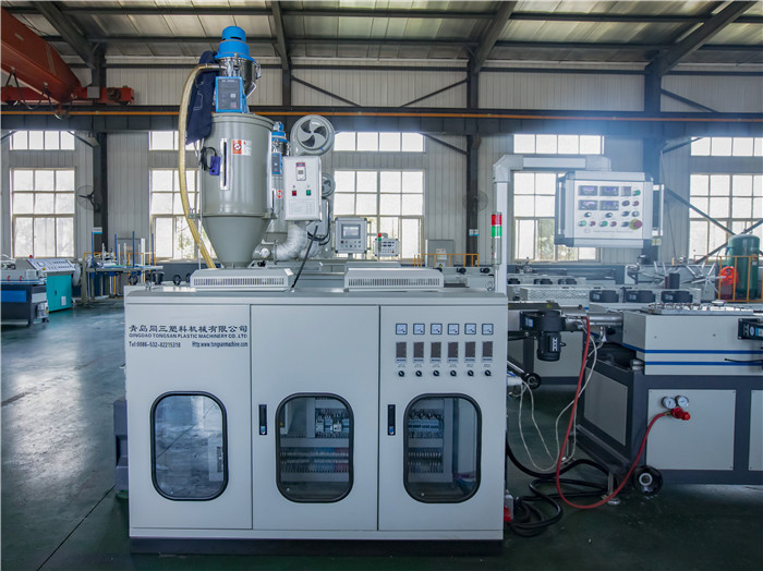 high speed corrugated pipe extruder