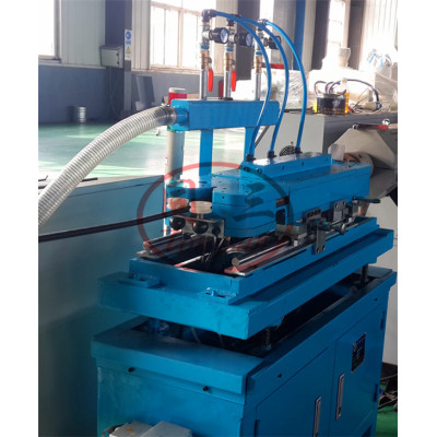 5-16mm 15-20m/min PP PE PA high speed single wall corrugated pipe machine making manufacturer