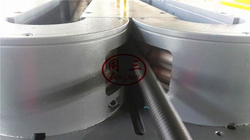 pvc single wall single wall corrugated pipe machine SWC pipe machine manufacturer