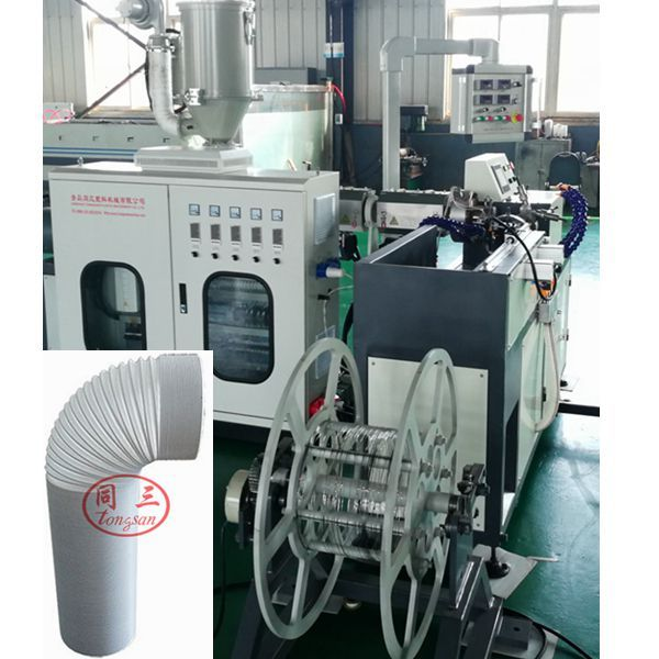 toile drain hose making machine