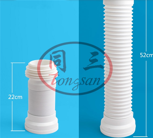 toilet flexible drain hose making machine