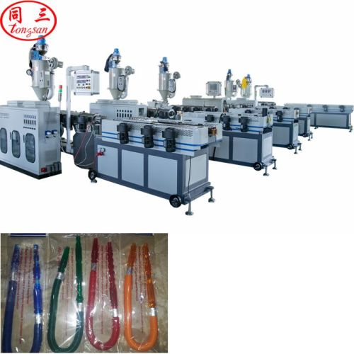 plastic water smoke hookah shisha hose making extruder machine supplier manufacturer factory