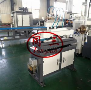 5-16mm 15-20m/min PP PE PA high speed single wall corrugated pipe machine making manufacturer