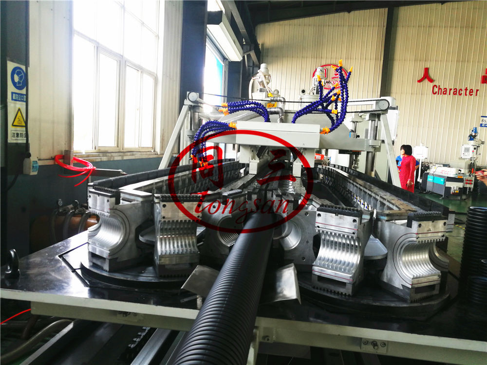 vacuum forming machine for double wall corrugated pipe