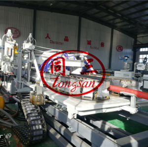 pvc double wall corrugated pipe machine factory in China / pvc dwc pipe making extruder production machine