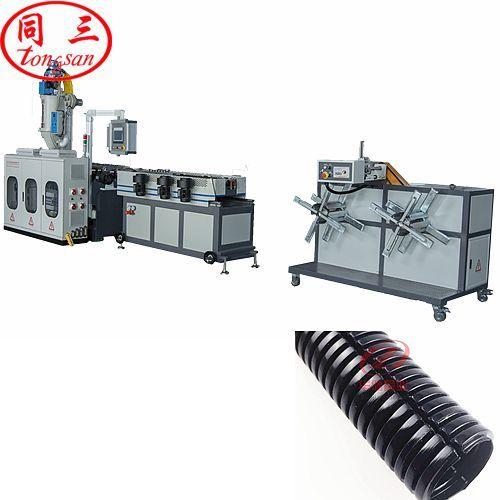 16 20 25 32 40 50mm plastic pipe corrugator machine