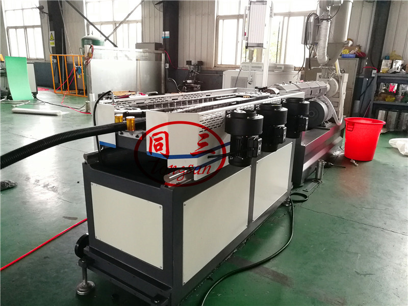 wire harness corrugated pipe extruder