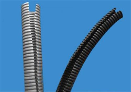 slit corrugated pipe machine