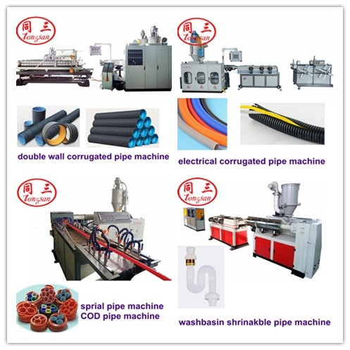 electrical pipe making machine