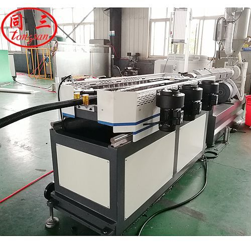 PA corrugated pipe machine
