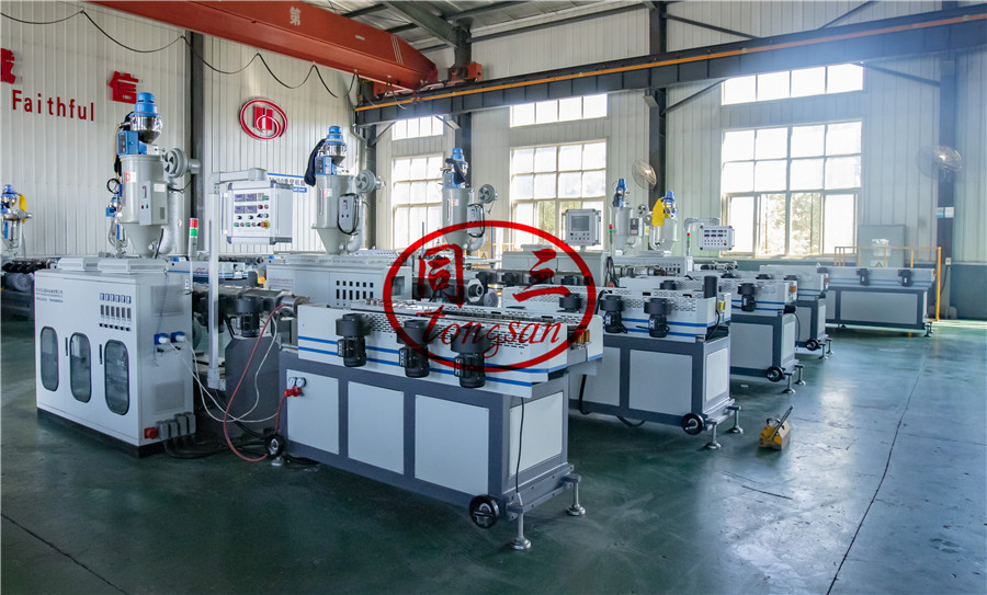9-32mm corrugated pipe machine