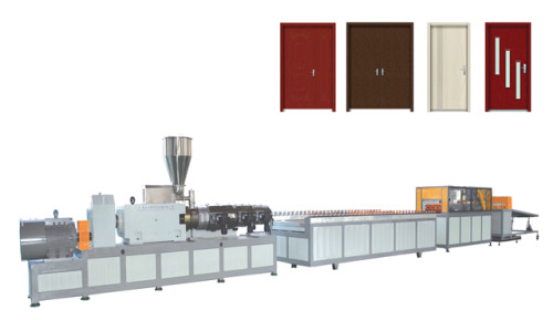 Wood Plastic Composite WPC Extruder Machine Supplier /  Plastic Wood Machine