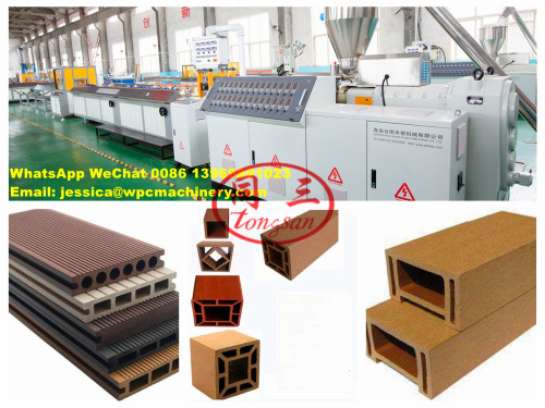 How To Make Wood Plastic Composite WPC Product  Using Plastic Wastage And Wood Wastage
