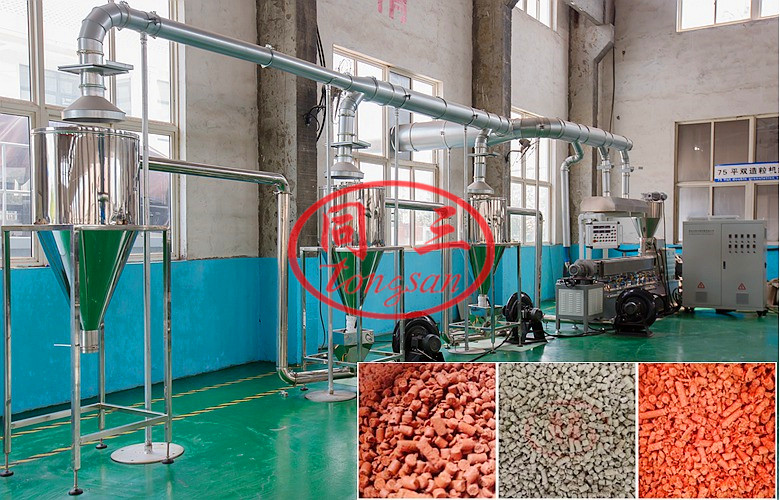 WPC GRANULE MAKING MACHINE