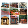 Recycable Eco-Friendly Wood Plastic Composite WPC Decking Making Machine Using Plastic Wastage