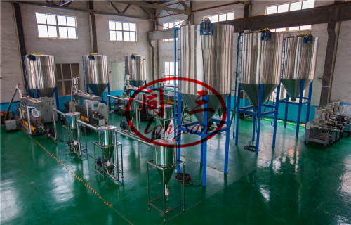 Parallel Double Screw Extruder WPC Granulating Pelletizing Machine For Making WPC Pellets