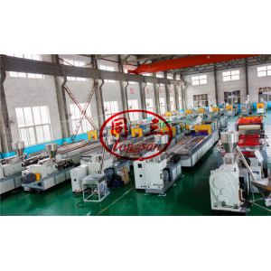 Turnkey WPC Production Machine For Making WPC Products By Plastic and Wood Fiber