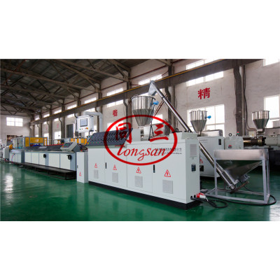 Wood Plastic Composite WPC Extruder Machine Supplier /  Plastic Wood Machine