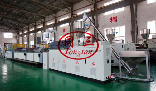 Wood Plastic Composite WPC Extruder Machine Supplier