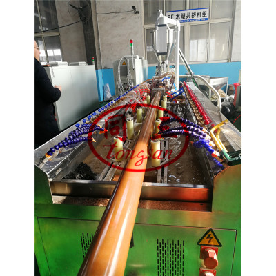 PE WPC Outside Landscape Decking Post Fence Making Machine