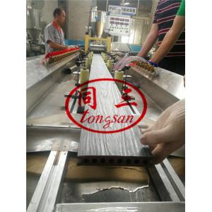 PE WPC Pergola Making Machine/ WPC Pavilion Post Machine Using Recycled Plastic And Wood Wastage