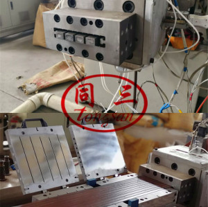 PP PE Wood Plastic WPC Mould Provider