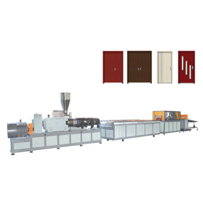 Wood Plastic Composition WPC Machine Extruder Manufacturer Supplier