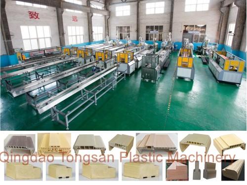 Wood Plastic Composition WPC Machine Extruder Manufacturer Supplier