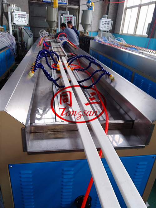PE foam profile making extruder production machine
