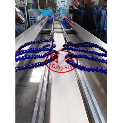 plastic lumber machine soft plastic foam fence profile machine