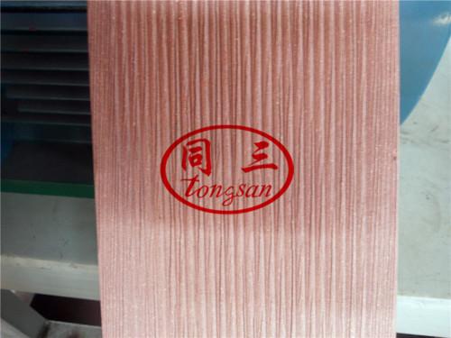 HG-600 Horizontal WPC Brushing Brusher Machine With Three Groups Brushes wpc machine