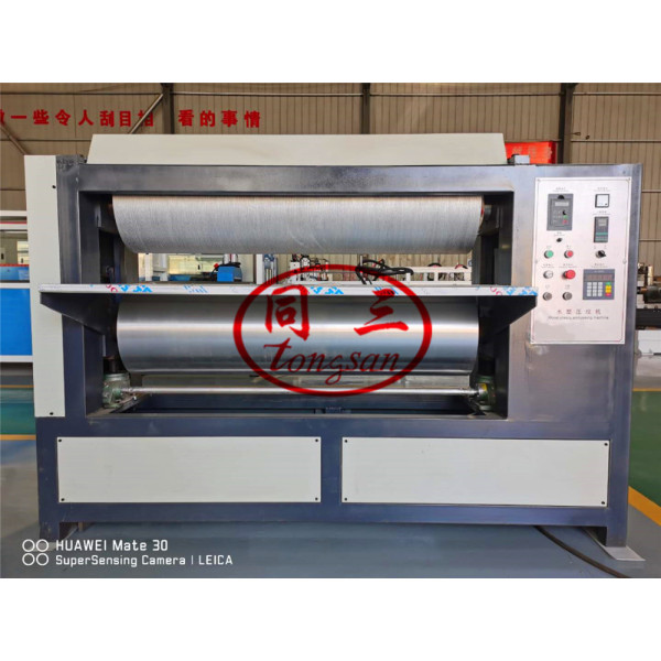 100-1300mm online 3D Embossing Embossor Machine For WPC Profile MDF Board