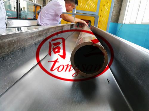 wood plastic wpc pipe extrusion machine/ wpc broomstick pipe making machine/wood plastic wpc machine