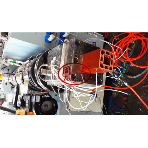 WPC Square Post Making Machine/ wpc column making machine/ wpc pavilion making machine