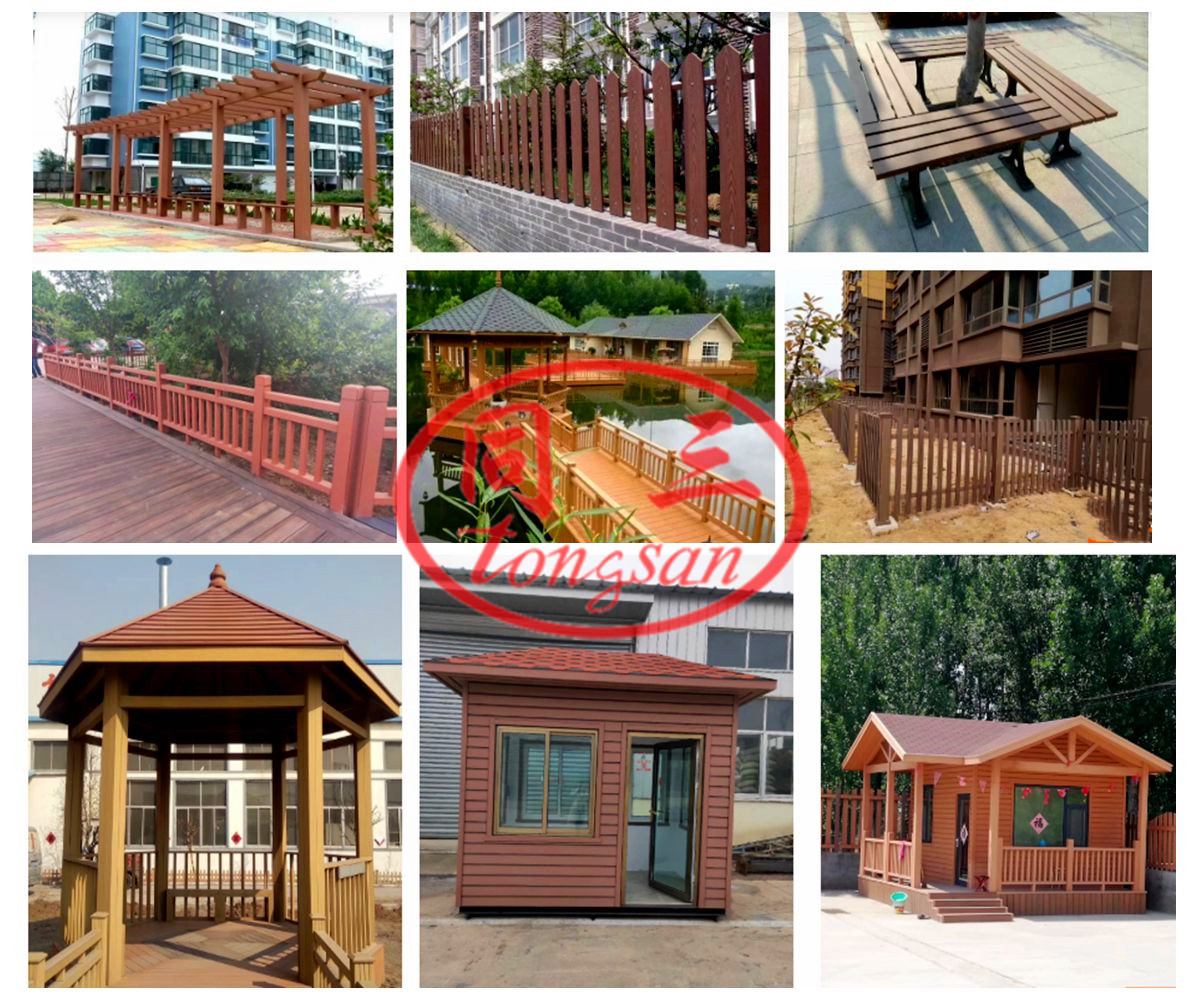 What are the advantages of decking in outdoor park wetlands