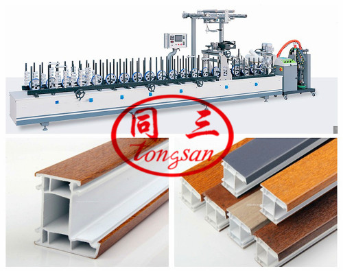 PVC Profile Making Extrusion Production Machine Line for ceiling,wall,decortive profile,skirting...